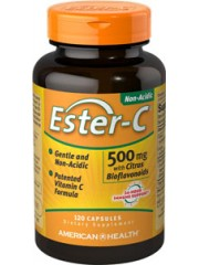 25% Off!! American Health, Ester-C 500mg with Citrus Bioflavonoids, 12 ...