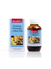Kordel's, Evening Primrose + Olive Oils, 120 Vegicaps Softgels, Pack ...