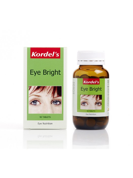 Kordel's Eye Bright, Eye Nutrition, 90 Tablets