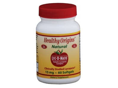 Healthy Origins Lyc-O-Mato Lycopene 15 mg, 60 Softgels B1F2