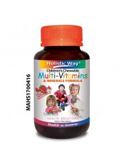 Holistic Way Children's Chewable Multivitamins & Minerals, 60 Tabs ...