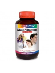 Holistic Way Multivitamins & Minerals, 60 VegiCaps, Pack of 2