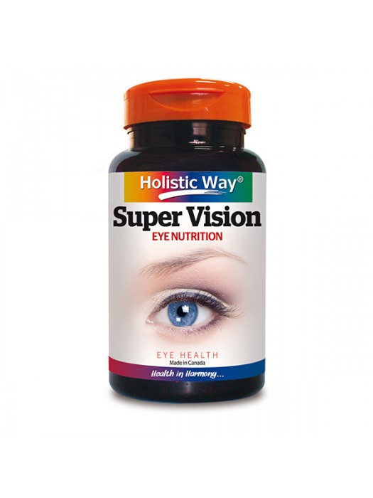 Holistic Way Super Vision, 90 Caps, Pack of 2