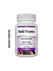 Webber Naturals Multi-vitamins with Minerals, 100 Tablets