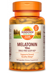 Sundown Naturals Melatonin 10mg, 90 Caps