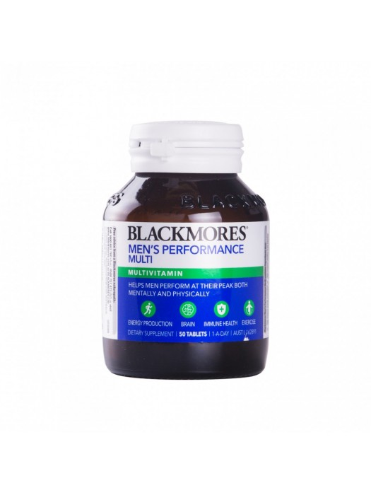 Blackmores Men's Performance Multi, 50 Tablets