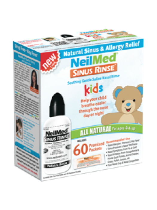 NeilMed® Sinus Rinse™ Pediatric Kit, 60 sachets