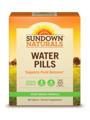 Sundown Naturals Water Pills, 60 Tabs
