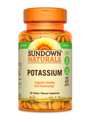 Sundown Naturals Potassium 99mg, 90 tabs