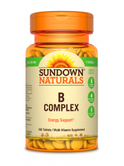 Sundown Naturals B Complex, 100 Tablets