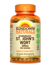 Sundown Naturals St. John's Wort 300mg, 150 caps
