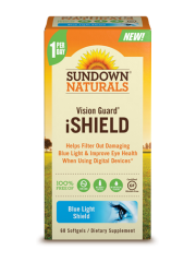 Sundown Naturals Vision Guard® iShield, 60 sgls