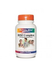 Holistic Way B50 Complex, 60 Tablets