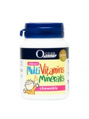 Ocean Health Children's Multivitamins & Minerals Chewable, 60 tabs ...