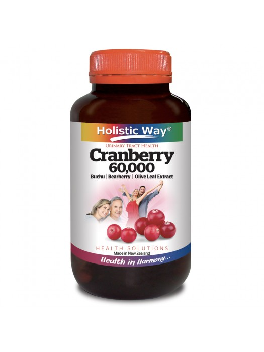 Holistic Way Cranberry, 60 VegiCaps, Pack of 2