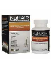 Natrol NuHair Hair Rejuvenation For Men, 60 Tablets