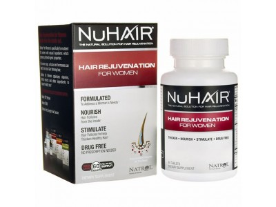 Natrol NuHair Hair Rejuvenation For Women, 60 Tablets BUY 1 FREE 2