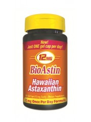 Nutrex Hawaii BioAstin Hawaiian Astaxanthin 12mg, 25 Gel caps
