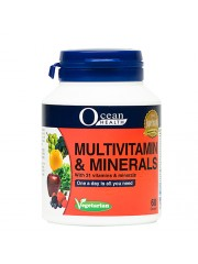Ocean Health Multivitamin & Minerals, 60 VCaplets, Pack of 6