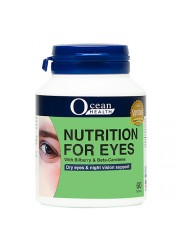 Ocean Health Nutrition for Eyes, 60 tabs, Pack of 6