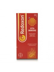 Redoxon, Vita Immune Effervescent, 30 Tablets (Pack of 2)