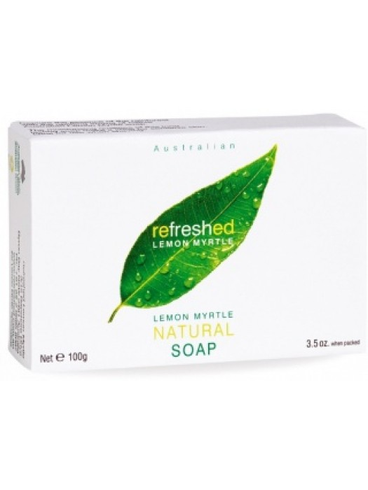 Tea Tree Therapy Refreshed Lemon Myrtle, Natural Soap, 3.5 oz., Pack of 3