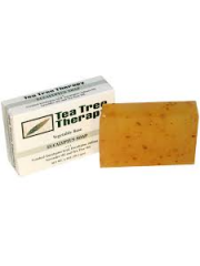 Tea Tree Therapy Eucalyptus Soap with Crushed Eucalyptus Leaf, Eucalyp ...