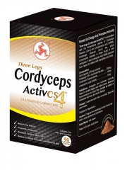 Three Legs Cordyceps Activ CS4, 90 Capsules