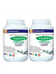 VitaEPA Odourless Omega-3 TG Fish Oil 1000mg, Pack of 2