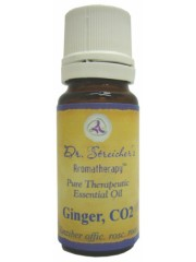 Dr. Streicher's Aromatherapy Ginger, Certified USDA Organic, 10 ml