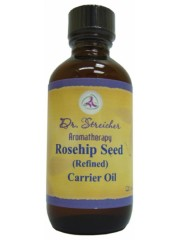 Dr. Streicher's Aromatherapy Rosehip Seed (Refined) Carrier Oil, 60 ml ...
