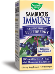 Nature's Way Sambucus Immune Lozenge, 30's