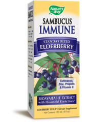 Nature's Way Sambucus Immune Syrup, 4 oz.